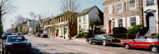 Germantown Avenue, Chestnut Hill 1997