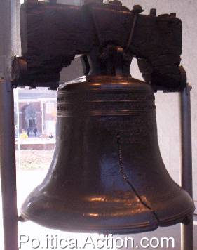 The Liberty Bell In Philadelphia, Pennsylvania