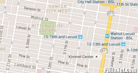 The Squares Of Philadelphia: Southwest (Rittenhouse) Square ... on philadelphia county pa map, fox chase pa map, point breeze pa map, port richmond pa map, peddler's village pa map, germantown pa map, east falls pa map,