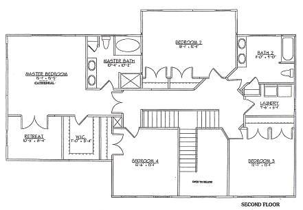 Newark delaware de real estate new home construction de for Master retreat floor plans