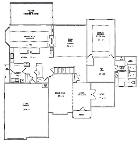New homes new castle county delaware new home for 20 x 20 master bedroom plans