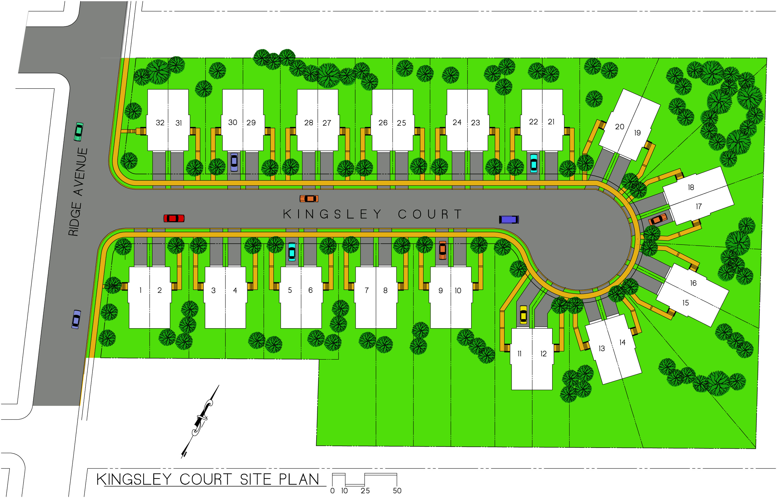 Kingsley Court Site Plan of New Houses and Real Estate for Sale in – Plot Plan And Site Plan