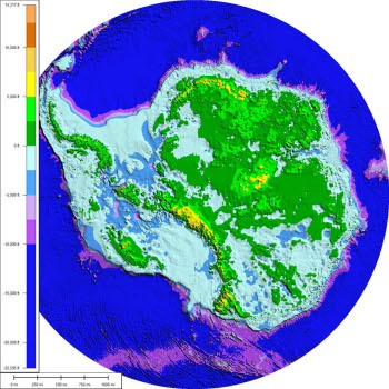 Antarctic Bedrock