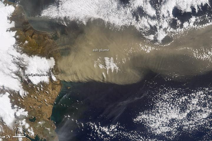 Eyjafjallajokull Volcano In Iceland Erupts