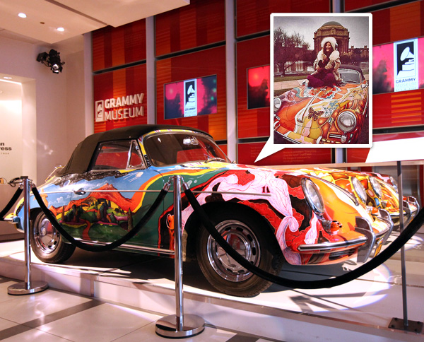 Janis Joplin's Flower Power Painted Porsche