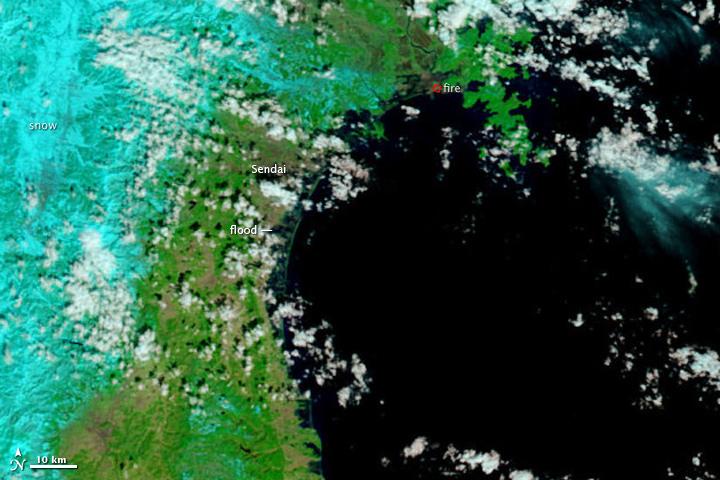 Flooding From Tsunami