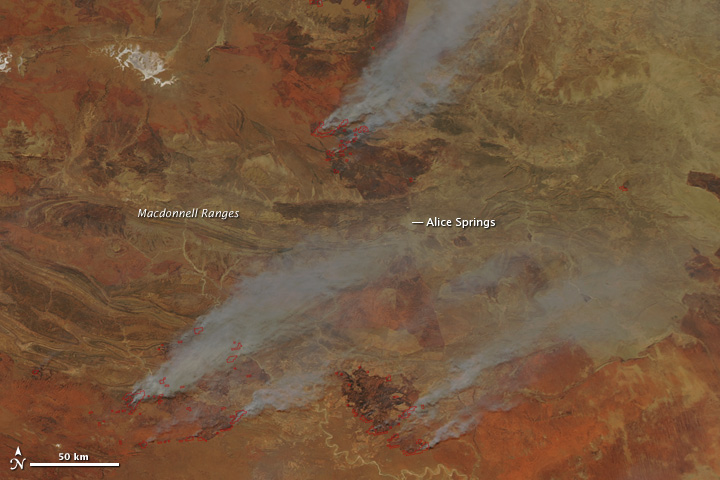 Fires Burning In Australia