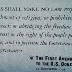 First Amendment Statue at Ground Zero 1776